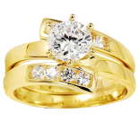 14k_yellow_gold_three_row_round_cz_wedding_ring_1
