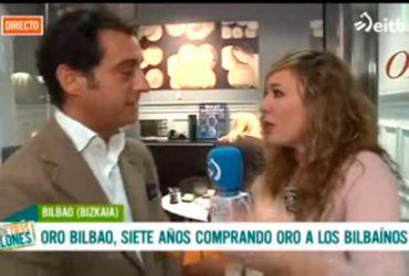 Oro Bilbao en 'Más de tres millones' de ETB2